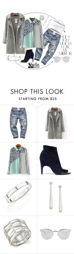 """Pattern Blouse"" by christine-sacco ❤ liked on Polyvore featuring moda, Rika, Acne Studios, Ippolita, Fendi, Marni, women's clothing, women, female ve woman"