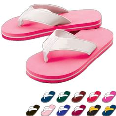 8e1f345f2 Sporty flip flops. A sporty style with contrasting side stripes! 20mm  lightweight EVA sole