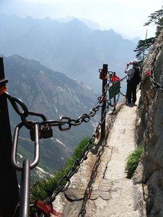 China's Mount Hua