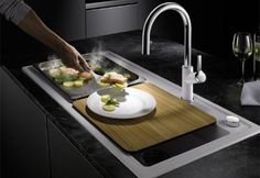 BLANCO ZENAR XL 6 S SteamerPlus Catering, Modern, Sink, House Styles, Cooking, Home Decor, Highlights, Kitchens, Campaign