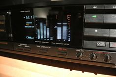 Sony TC-RX80ES detalhe