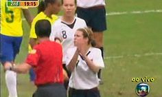 """""""Why are you clapping?"""" -Kelley O'Hara"""