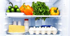 Keep Fresh veggies in the fridge for a healthy snack, track their freshness with this appFridge Organization