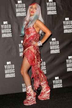 The most shocking looks from past MTV VMA Red Carpets. [Photo: Getty Images]