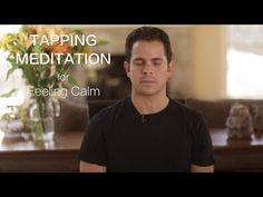 "2016 Video Series Tapping Meditation - ""From Overwhelm to Calm"" - 2016 Video… Meditation Scripts, Easy Meditation, Guided Meditation, The Tapping Solution, Eft Tapping, Meditation Techniques, Alternative Therapies, Stress Management, How To Relieve Stress"