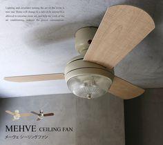 天井照明 天井照明 MEHVE Remocon Ceiling Fan Light