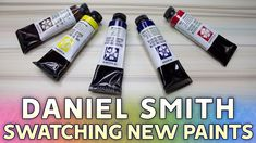 Swatching Paints: Daniel Smith  Watercolor Collection Update https://youtu.be/HeCeV9Qjwwc  In this video Im swatching the new additions to my watercolor collection all from the brand Daniel Smith! There will be a second video up featuring the new additions to my collection from M. Graham. With these paints I feel Ive rounded out my palette a bit better and Im pretty pleased with where my collection is at right now! (... Ley says before inevitably redoing her whole palette in a months time.)…