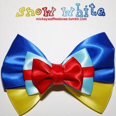 Snow White Hair Bow. $8.00, via Etsy.