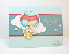 Follow Your Dreams card-designed by Lori Tecler/Inking Aloud-stamps and dies from The Cat's Pajamas