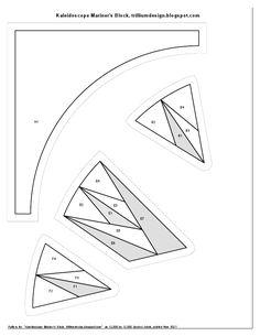 Kaleidoscope Mariners Compass
