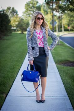 What I Wore to Work Weekly Linkup #44 - Mix & Match Fashion
