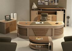 Office Reception Design, Office Table Design, Office Furniture Design, Office Interior Design, Office Interiors, Furniture Dressing Table, Reception Furniture, Modern Office Table, Computer Desk Design
