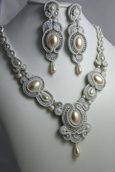 Bridal Soutache Set by Larissa | Flickr - Photo Sharing!