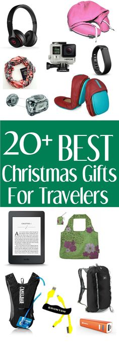 Great gift ideas for travelers and outdoor lovers! Good Christmas gift ideas too! via www,uneven sidewalks.com