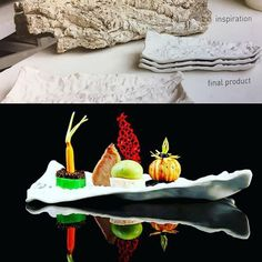 From the begining of the idea to the final result by the talented chef @erdem_dirbali #pordamsa #porcelain #designforchefs #theartofplating #chefstalk #chefslife #gastronomy #gastronomia #chefsroll #foodie #finedining #finedininglovers #instafood #foodpost #tableware #crafts #ceramics #dinnerware #tablesetting #tabletop #tabletopmatters #chefcurry #gastroart #gastropost #kitchenfactory