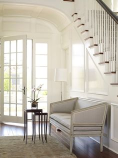 Foyer Settee by Kevin Spearman Design Group, Inc.