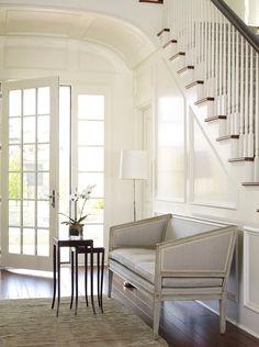 entrance, white wain