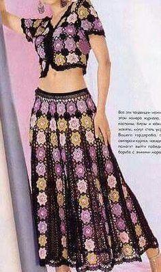 Adorable crochet dress