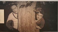Milly-La-Foret 08 Jean Cocteau et Edouard Dermit -