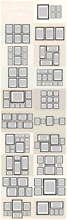 These Diagrams Are Everything You Need To Decorate Your Home  Gallery Wall Layout Ideas… Every diagram you ever need to see for home decorating  http://www.coolhomedecordesigns.us/2017/06/06/these-diagrams-are-everything-you-need-to-decorate-your-home/