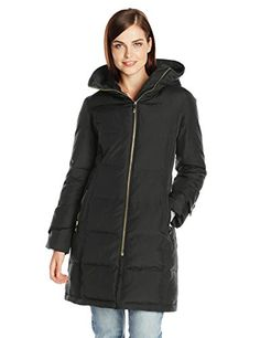 Ahhhh! Cozy - $137.50-$188.00 - Calvin Klein Women's Mid Length Down Coat with Fur Trim, Black, Large Calvin Klein http://www.amazon.com/dp/B00L40LEIW/ref=cm_sw_r_pi_dp_t5Itub0JDKS1M