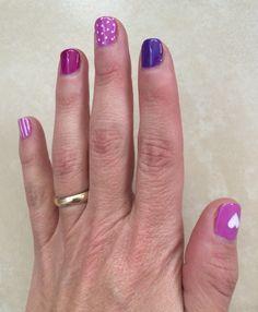 De morado a violeta