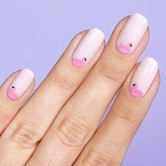 Cabana Crush nail art stickers – Olive and June Cute Summer Nail Designs, Cute Summer Nails, Simple Nail Art Designs, Summer Pedicure Designs, Summer Nail Art, Summer Toenails, Beautiful Nail Designs, White Nail Art, Marble Nail Art