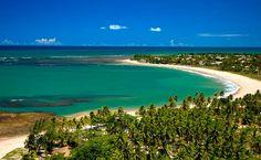 Praia da Espera em Itacimirim na Bahia