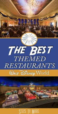 """As our friends at Disney Food Blog have stated, """"Food IS a Theme Park""""! This means that you should take that into account when you're planning a trip to Walt Disney World. Some of the best restaurants at the resort are experts at creating a blend of great food AND a memorable atmosphere, which I …"""