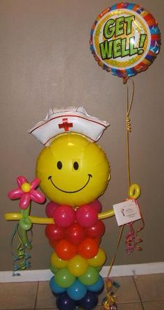 Gift Delivery in the Tulsa and Surrounding Area 3.5ft Nurse Get Well Soon to Family and friends, Happy Birthday to a Nurse, Congrats to the graduating Nurse