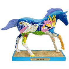 "Title: Sea Horse      Artist: Sue Ann Clark      Medium: Resin      Measures: 6½"""