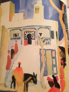Paul Klee Le voyage en Tunisie (1914) / avec le systeme d'agencement chromatique, il veut créer une MUSICALITE CHROMATIQUE Paul Klee, Henri Matisse, Monet, Picasso, Van Gogh, Modern Art, Contemporary Art, August Macke, France Culture