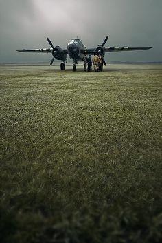 B-25 Mitchell by Testchamber, via Flickr
