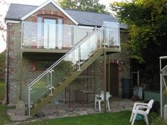 steel fabrication for outdoor decks - Google Search