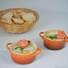Eier im Näpfchen mit Lachs - Katha-kocht!