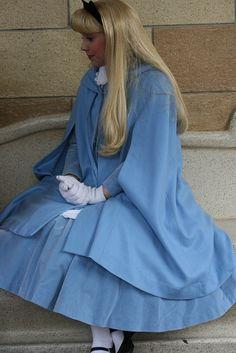 Alice in her Winter Wear