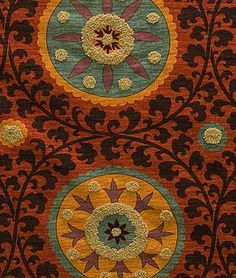 Pindler & Pindler Kaitag Sunset - $64.4 | onlinefabricstore.net