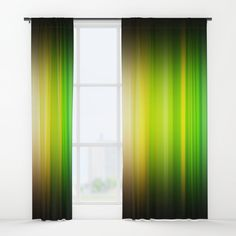 """Your drapes don't have to be so drab. Our awesome Window Curtains transform a neglected essential into an awesome statement piece. Featuring a single-sided print with a reverse white side.     - Dimensions: 50"""" (W) x 84"""" (H)   - Available in single or double panel options   - Crafted with 100% lightweight polyester, blocks out some light   - 4"""" hanging pocket for easy hanging on any rod   - Single side print on front with reverse white side   - Machine wash cold, tumble dry low Window Curtains, Wall Prints, Windows, Graphics, Cold, Pocket, Awesome, Easy, Home Decor"""