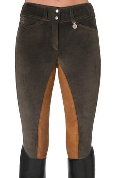 Pikeur Nathalie cord breeches are perfect for fall riding!
