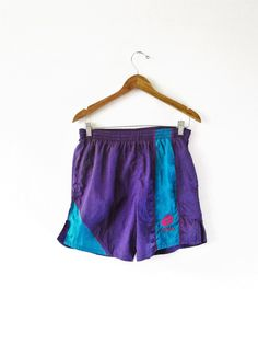 Vintage 1990s Lotto Italia Purple Athletic Soccer Shorts Sz S by FreshtoDeathVintage on Etsy