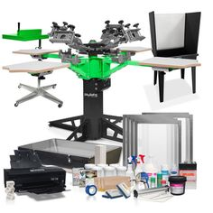 Complete Screen Shop Entrepreneur Package | ScreenPrinting.com by Ryonet