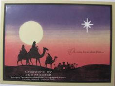 """Stampin Up """"Come to Bethlehem"""" images - Google Search"""