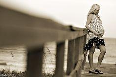 Maternity beach shoot