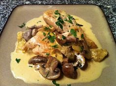 Peace, Love, and Low Carb: Chicken Dijon with Mushrooms and Artichokes