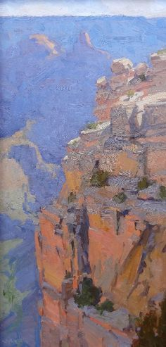 by Bill Cramer Abstract Landscape, Landscape Paintings, Large Backyard Landscaping, Western Landscape, Southwestern Art, Desert Art, Park Art, Mountain Paintings, Paintings I Love