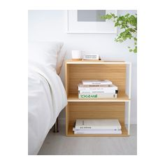 IKEA PS 2014 Opbevaringsløsning med låg - bambus/hvid - IKEA