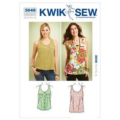 Mccall Pattern K3848 Xs-S-M-L-X-Kwik Sew Pattern