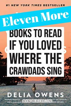 Looking for books like Where the Crawdads Sing? This new list of similar suggestions will help you pick another winning novel to read next! Kya is hard to forget, but these similar novels also have memorable characters and are perfect for book club discussions! books to read if you like where the crawdads sing | what to read after where the crawdads sing Books To Read For Women, Best Books To Read, My Books, Good Book Club Books, Book Club List, Read Books, Novels To Read, Book Girl, Historical Romance