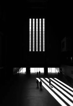 contrast // leading lines // street photography Sir Giles Gilbert Scott - Tate Modern Shadow Photography, Street Photography, Art Photography, Photography Lighting, Fashion Photography, Geometric Photography, People Photography, Digital Photography, Black White Photos