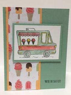 Tastee Trucks Stamp Set; FREE Stamp Set during Sale-A-Bration 2017;